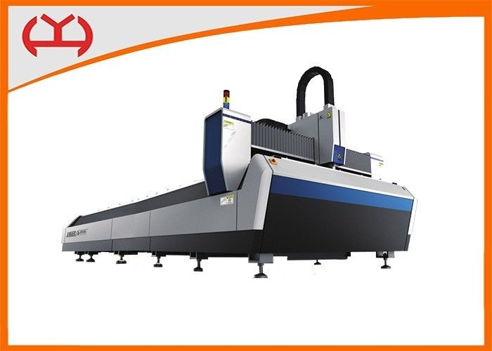 IP54 Protective Grade CNC Fiber Laser Cutter IPG Type YH3015 Single Table