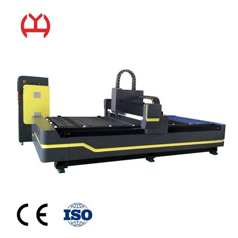 Metal CNC Fiber Laser Cutting Machine , Fiber Optic Laser Cutter 1500*3000mm